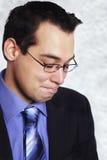 Homme d'affaires déprimé Photo stock