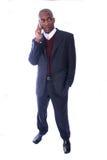 Homme d'affaires d'Afro-américain Image stock