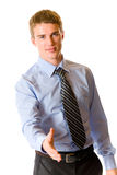 Homme d'affaires, d'isolement Images stock