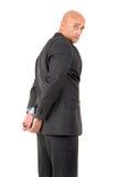 Homme d'affaires dans des menottes Images libres de droits