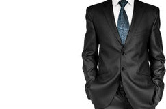 Homme d'affaires dans le costume. Image libre de droits