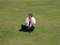 Homme d'affaires dans le domaine Photos libres de droits