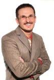 Homme d'affaires dans le procès images libres de droits