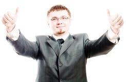 Homme d'affaires de beauté de réussite Photos libres de droits