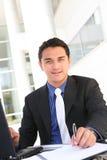 Homme d'affaires de Hansome Photos stock