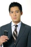Homme d'affaires de jeunes de l'Asie images libres de droits