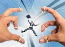 Homme d'affaires de marionnette Image stock