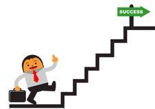 Homme d'affaires de réussite illustration libre de droits