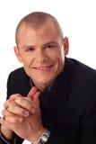 Homme d'affaires de sourire Photos libres de droits