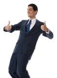 Homme d'affaires de sourire Photographie stock