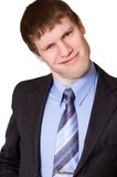 Homme d'affaires drôles Photo libre de droits