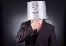 Homme d'affaires drôle Image libre de droits