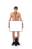 Homme d'affaires en faillite, éliminé Photographie stock