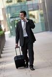 Homme d'affaires en voyage Photographie stock