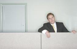 Homme d'affaires ennuyé Image libre de droits