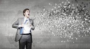Homme d'affaires et idée photos libres de droits