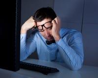 Homme d'affaires fatigué Image libre de droits
