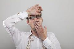 Homme d'affaires fatigué Photos libres de droits