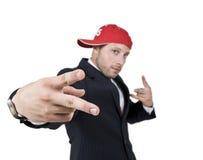 Homme d'affaires frais Photo stock