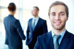 Homme d'affaires futé Photo stock