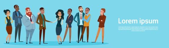Homme d'affaires Handshake Businesspeople Group Team Hand Shake Agreement Concept Image libre de droits