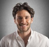 Homme d'affaires heureux Photo libre de droits