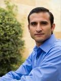 Homme d'affaires hispanique Image libre de droits
