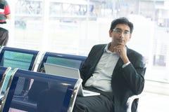 Homme d'affaires indien asiatique Photos stock