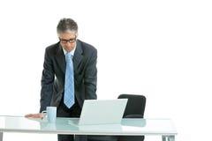 Homme d'affaires inquiété Images stock