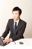 Homme d'affaires japonais Photographie stock libre de droits