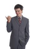 Homme d'affaires (les séries) photo stock