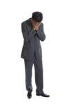 Homme d'affaires (les séries) image libre de droits