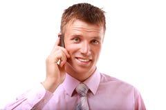 Homme d'affaires mûr heureux Photos stock
