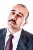 Homme d'affaires moqueur photo stock