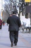 Homme d'affaires obèse Images stock