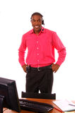 Homme d'affaires occupé Image libre de droits
