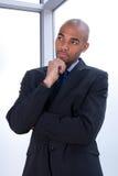 Homme d'affaires pensif photos libres de droits