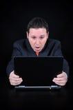 Homme d'affaires perplexe Image libre de droits