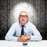 Homme d'affaires plus âgé photographie stock libre de droits