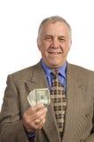 Homme d'affaires plus âgé de sourire image stock