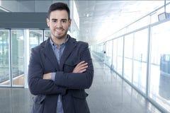 Homme d'affaires, portrait photo libre de droits