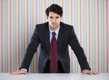 Homme d'affaires puissant images stock