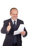 Homme d'affaires réussi Photo libre de droits