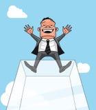 Homme d'affaires réussi illustration stock