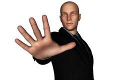 Homme d'affaires Reaching Hand illustration de vecteur
