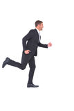 Homme d'affaires Running photo stock