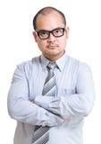 Homme d'affaires sérieux image stock