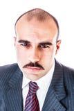 Homme d'affaires sérieux image libre de droits
