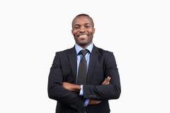 Homme d'affaires sûr. images libres de droits