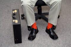 Homme d'affaires sans cérémonie Images stock